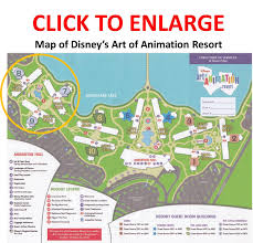 Map Of Epcot Review The Little Mermaid Area And Rooms At Disney U0027s Art Of