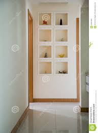 ornaments on shelves in a corridor stock photo image 62807862