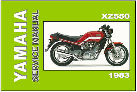 yamaha workshop manual xz550 1982 and 1983 service and repair