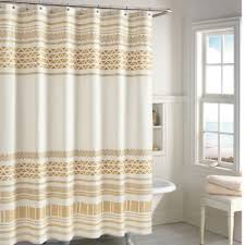 Brown And Gold Shower Curtains Chf Industries Kalamata Shower Curtain In Gold Bed Bath Beyond