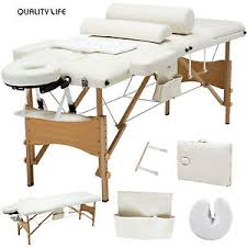 fold up massage table for sale portable bed tables ebay