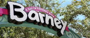 a day in the park with barney universal studios florida