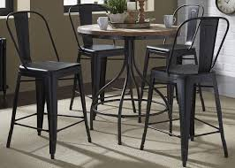 Pub Table And Chairs Set Liberty Furniture Vintage Dining Series 5 Piece Pub Table And Bar