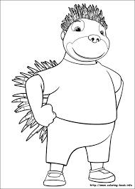 adventures badou coloring picture