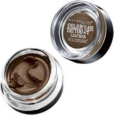 eye studio color leather 24hr gel eyeshadow chocolate