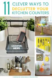 How To Declutter Your Home by 11 Clever Ways To Declutter Kitchen Counters U2022 Grillo Designs