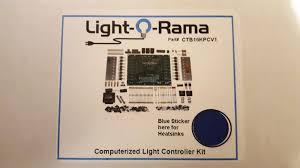 light o rama computerized christmas lighting controller diy kit