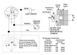 96 baja 454 mercruiser water temp gauge question