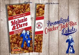personalized cracker jacks digital cracker label wedding favor birthday favor