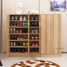 The Simple Storage Cabinet With Wood Shoe Storage Cabinet With Traditional Farmhouse Oak Of