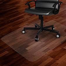 Mat For Under Desk Chair Amazon Com Office Chair Mat For Hardwood Floor Opaque Office