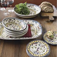 painted platters provence painted serving platter williams sonoma