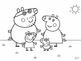 peppa pig coloring page peppa pig coloring pages for kids peppa