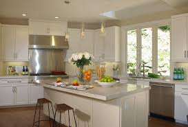 kitchen design calgary rustic pendant lighting white wall wooden chair glass container