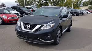 2017 nissan murano platinum black 2017 murano platinum sherwood nissan youtube