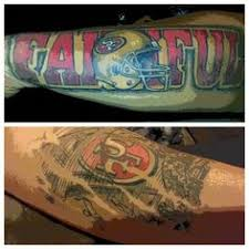 49ers tattoo designs pinned by tresa burkett 49er tattoos