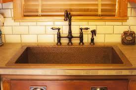 copper kitchen sink faucets amazing copper sink faucet 35 photos gratograt