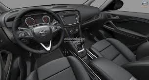 opel zafira 2015 interior 2017 opel zafira facelift leaked on gm website here are the first