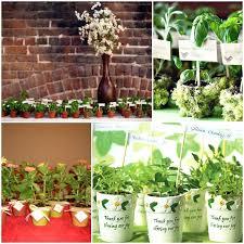 flower pot favors flower pot wedding favors potted flowers wedding favor ideas mini