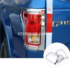 abs light on ford f150 abs chrome rear tail fog light trim cover 2pcs for ford f150 f 150