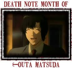 Death Note Meme - month of matsuda death note death note news