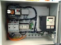 electrical control panel wiring electrical panel building
