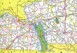 Tennessee Highway Map by Interstate Guide Interstate 24