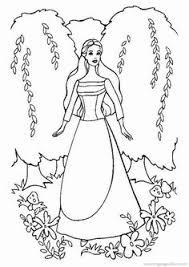 barbie coloring pages print elegant barbie coloring pages free large images coloring pages