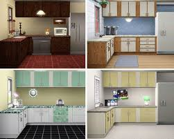mod the sims simple kitchen u2013 counters islands cabinets