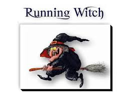 Flying Witch Decoration Second Life Marketplace Goofy Running Witch With Broom
