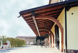 preventivo tettoia in legno portico a sbalzo tettoia in legno