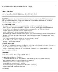 Operations Assistant Resume Administrative Assistant Resume Objective 6 Examples In Word Pdf