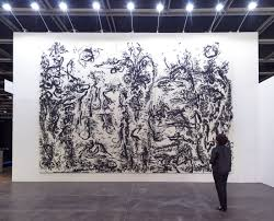 chinese collectors are flocking to contemporary ink art