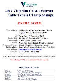 Table Tennis Doubles Rules Vic Closed Table Tennis Victoria Revolutionisesport