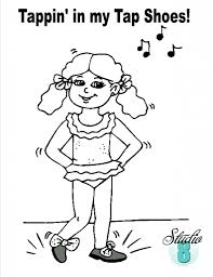 coloring kids coloring dance coloring pages 36 tap dance