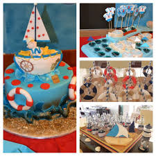 sailor nautical baby shower party ideas baby shower parties