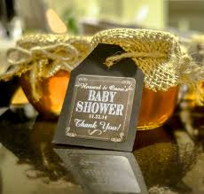 honey favors honey pot baby shower party favor