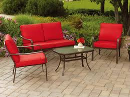 Best Wrought Iron Patio Furniture by Patio 26 Wrought Iron Patio Furniture With Red Cushions And