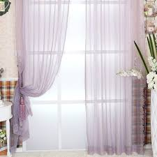 romantic purple bedroom striped purple sheer curtains