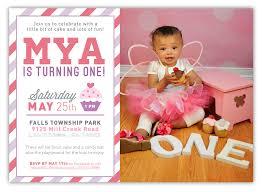 1st Birthday Invitation Cards Designs First Birthday Party Invitation Wording Cimvitation
