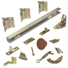 Bifold Closet Door Parts Johnson Hardware 170a Series 36 In 2 Panel Bi Fold Door Hardware