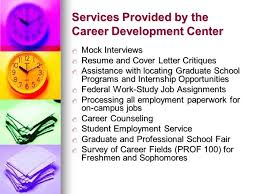 Resume For Work Study Jobs by Why Career Planning Career Development Center Career Development