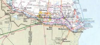 Austin Tx Maps by The Rio Grande Valley Texas Map