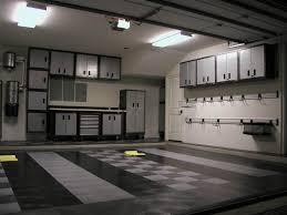 modern monochromatic garage interior design and decoration ideas