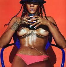 topless pictures of rihanna rihanna nude for lui magazine zen garage