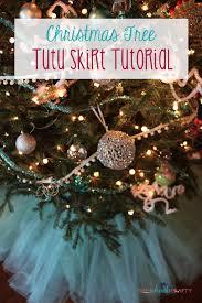 christmas tree tutu skirt tutorial shes kinda crafty