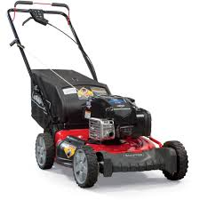 snapper 7800982 hi vac 190cc 21 in self propelled electric start