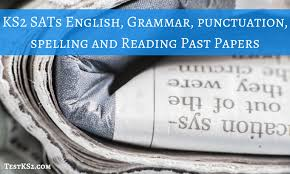 grammar ks2 test and ks2 sats english papers testks2 com