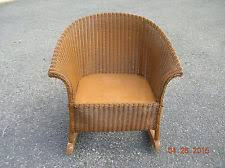 Childs Antique Chair Wicker Antique Chairs 1900 1950 Ebay
