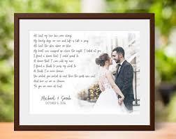 one year wedding anniversary gift 1st anniversary gift etsy